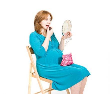 Беременность и косметика - вещи не совместимые