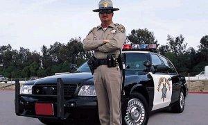 Американский полицейский сам себя оштрафовал