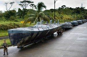 Около Испании обнаружена субмарина контрабандистов наркотиками