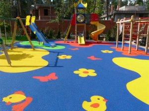Покрытия из резиновой крошки: идеальный вариант для детской площадки!