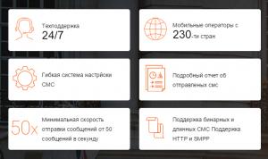Обзор сервиса СМС рассылок BSG