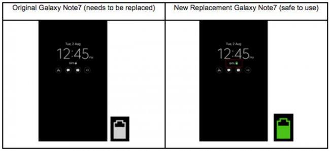 Обновления Samsung Galaxy Note 7 быстро разряжают аккумулятор
