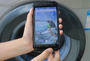 Смартфон Nomu S30 прошел испытание стиркой в режиме автомат
