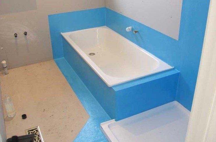 Как сделать гидроизоляция ванной наливной пол 3d cnjbvjcnm