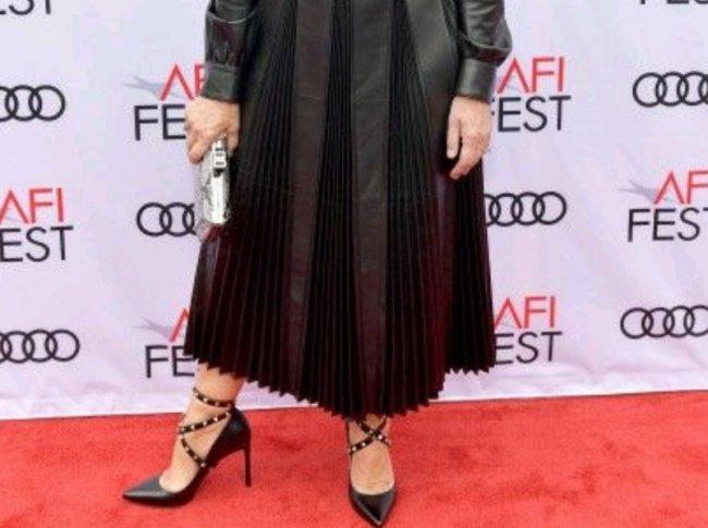 72-х летняя актриса поразила всех своим нарядом