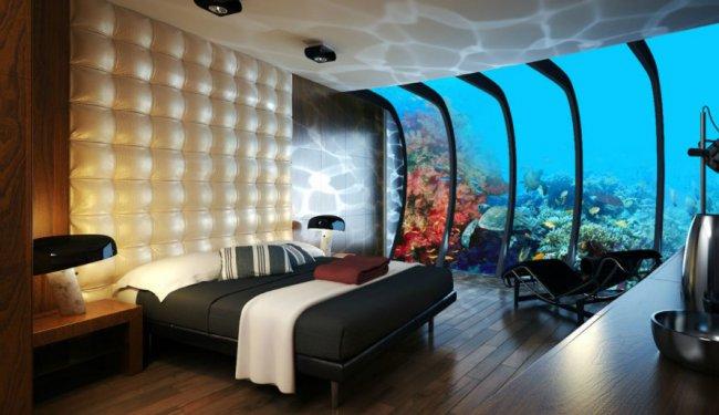 Самый дорогой подводный отель в мире