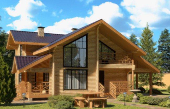Дома из клееного бруса – от чего зависит стоимость?