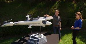 Корпорация Uber презентовала новый прототип летающего такси