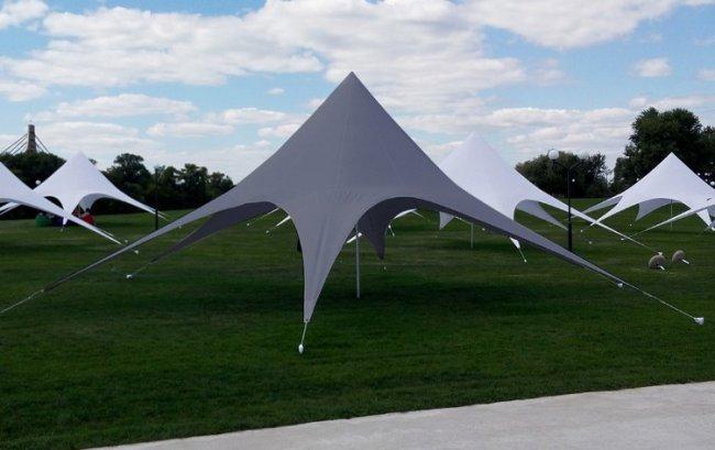 Классификация и материалы для шатров