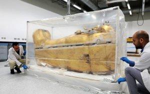 В Египте будет проходить реставрация саркофага Тутанхамона. Последний раз этим вопросом занимались сто лет назад
