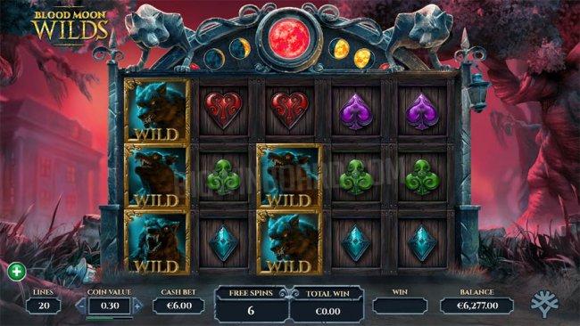 Новый слот от Yggdrasil Gaming к Хеллоуину – Blood Moon Wilds