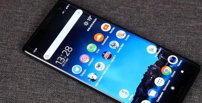 Обзор телефонов Sony