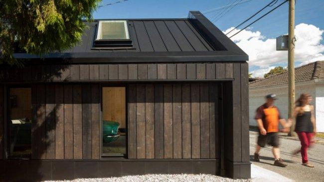 Как выглядит деревянный гараж из Канады
