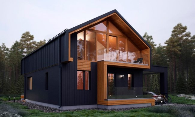 Дом в стиле барнхаус построить